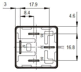 1995 Dodge Dakota Brake Panel further 87a Relay Wiring Diagram in addition 01 together with 8 Pin Relay Base Layout likewise Wiring Diagram For 6 Volt 3 Prong Flasher. on wiring diagram for 2 pin flasher relay