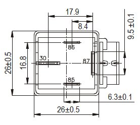 Wiring Diagram 4 Pole Motor moreover Polarity Reversing Switch Wiring Diagram in addition Change Direction Of 12v Dc Motor Rotation Using Relay moreover 2 Form A Relay together with 332612. on change direction of 12v dc motor rotation using relay
